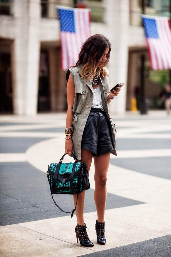 On the Wishlist – Leather Shorts
