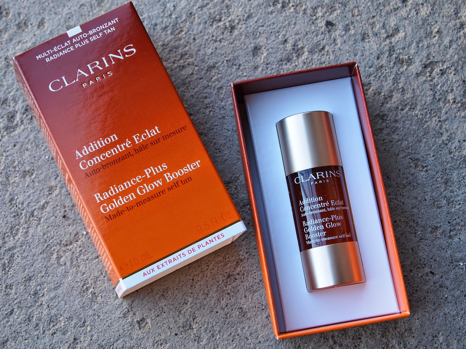 Test: Radiance-Plus Golden Glow Booster fra Clarins