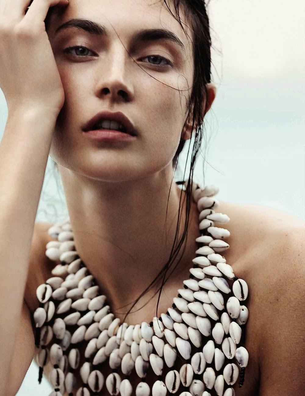 Søndag, strand og Vogue
