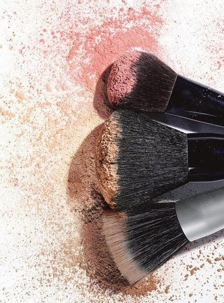 Søndagssyssel – rens av make-up børster