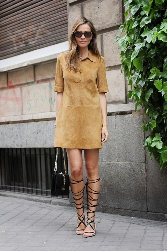 Suede Dress please!