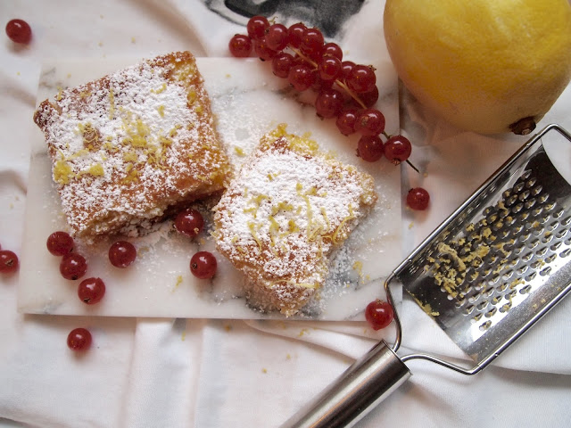 Lemon Bars – hvis Fox var en kake
