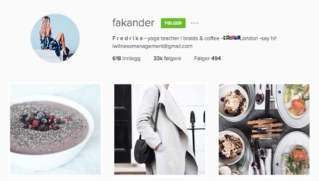 Instagramtips: @fakander