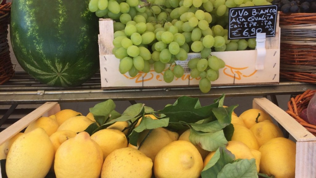 Sitroner fra Amalfi