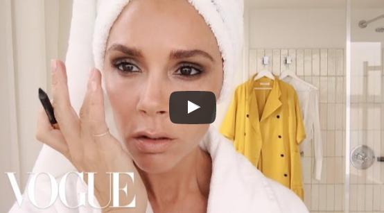 Victoria Beckham's Five Minute Face