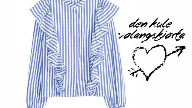 Volangskjorta fra H&M