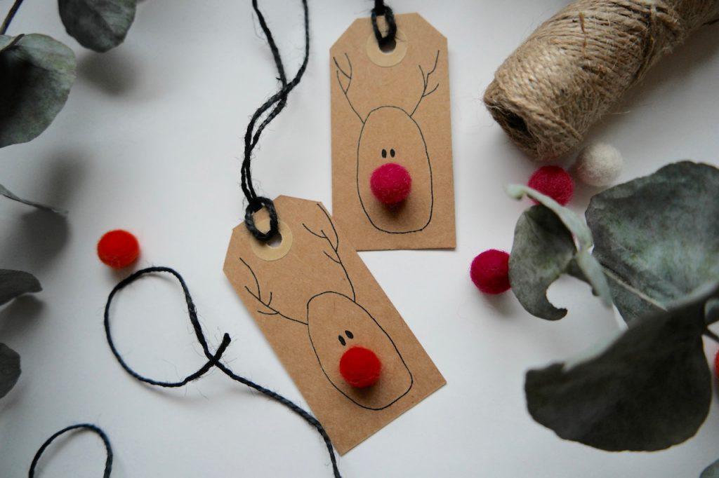 julekort interiør ladybirds nest