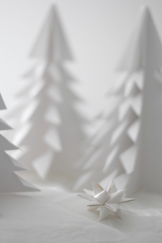 Papirstjerner og papirtrær