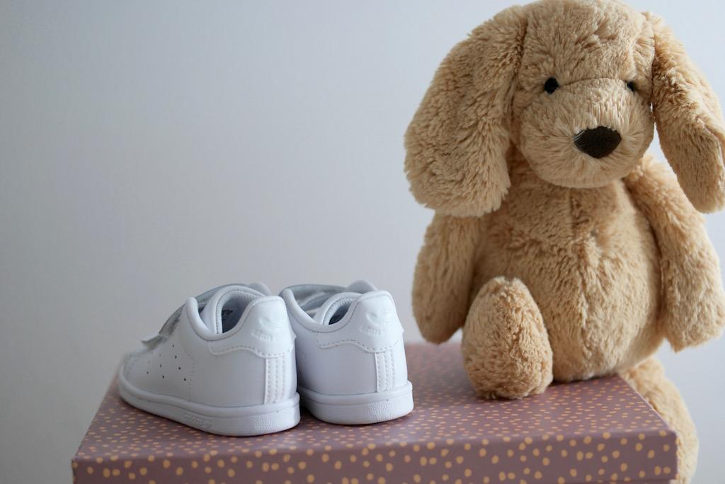 Adidas Stan Smith til de små babyføtter