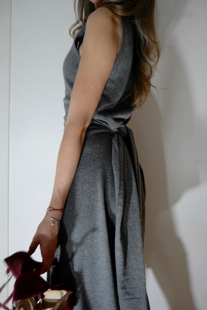 Kashmina by Line Langmo kjolen stylet på 3 måter