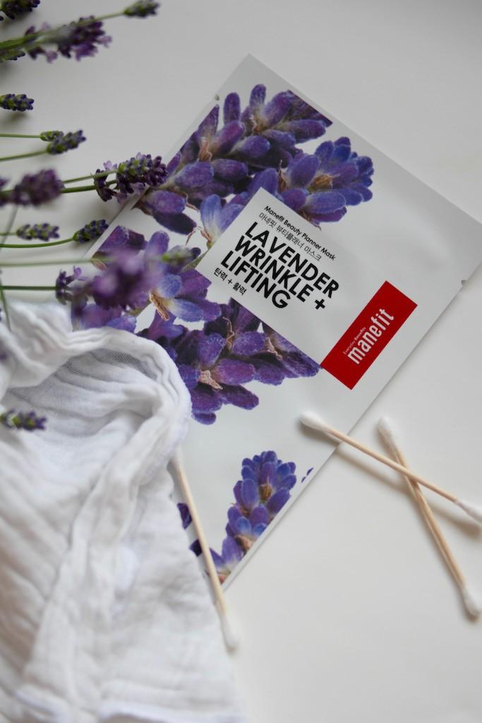 Lavendel ansiktsmaske Manefit