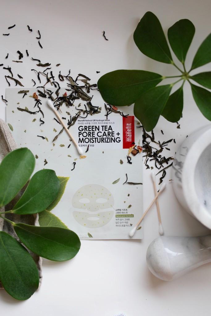 Koreansk hudpleie - grønn te