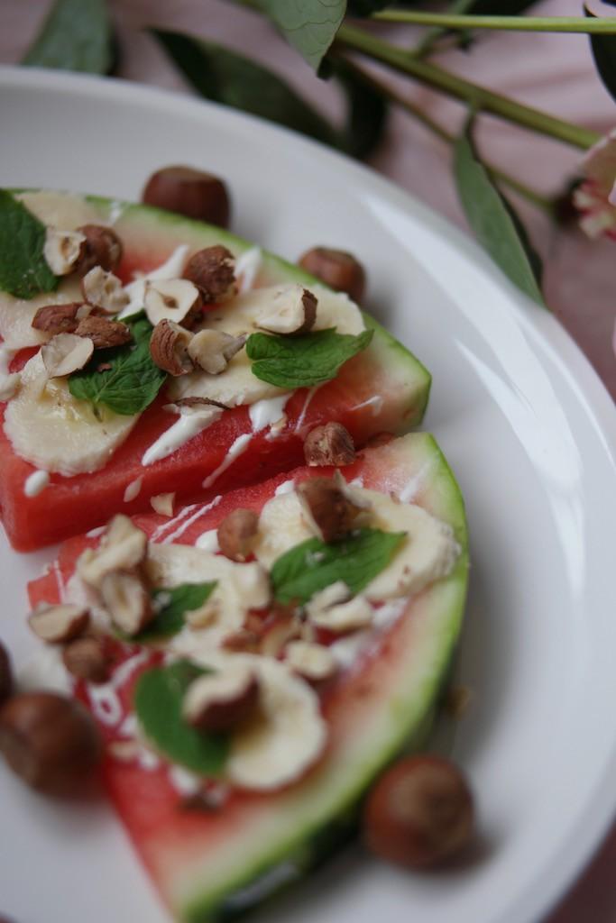 Vannmelonpizza versjon 1