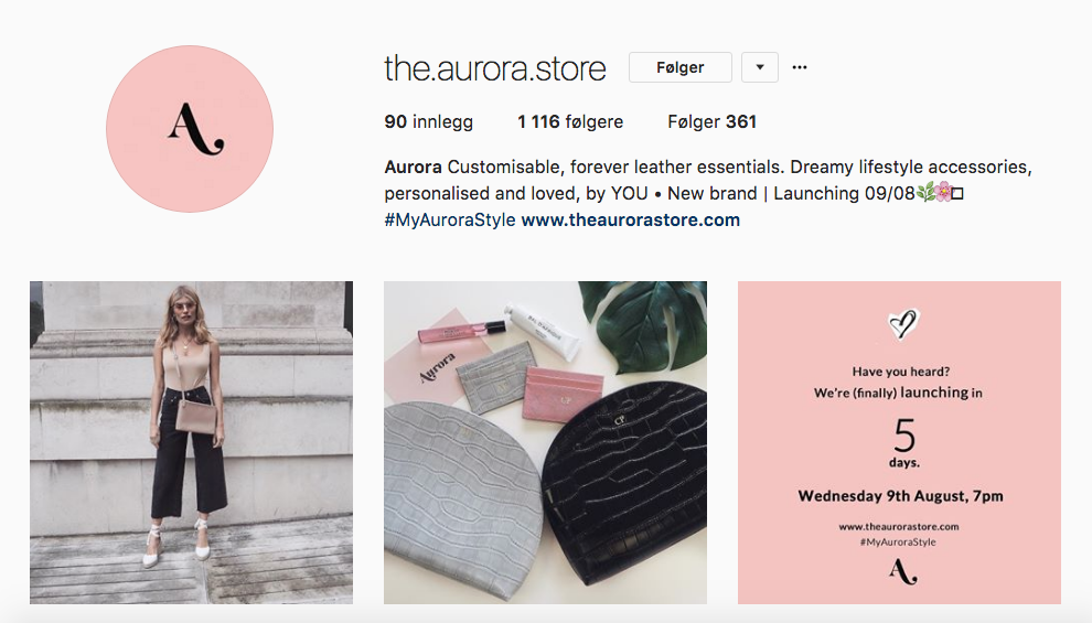 One to follow – @the.aurora.store