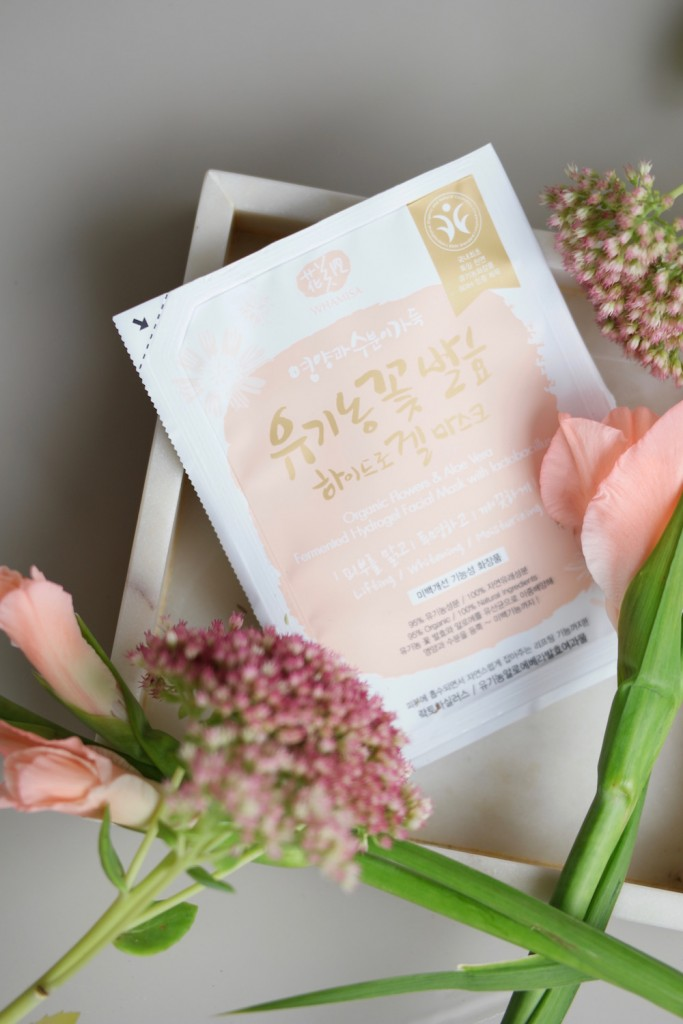 Whamisa Sheet Mask Organic Flowers
