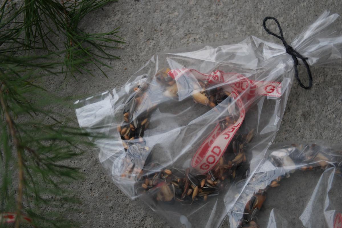 Julegavetips – hjemmelaget fuglemat