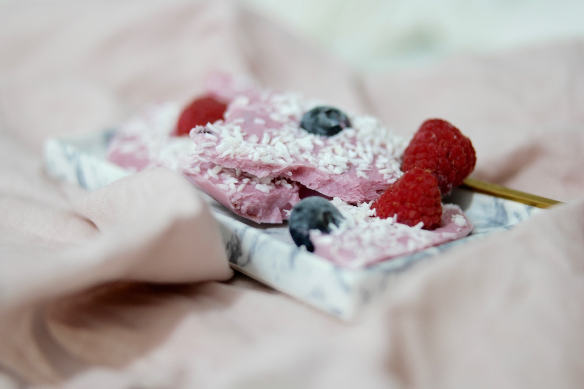 Enkel yoghurtis – laget på 1-2-3!