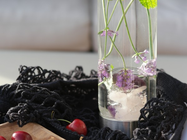 Krystallflasken – den vakreste drikkeflasken!