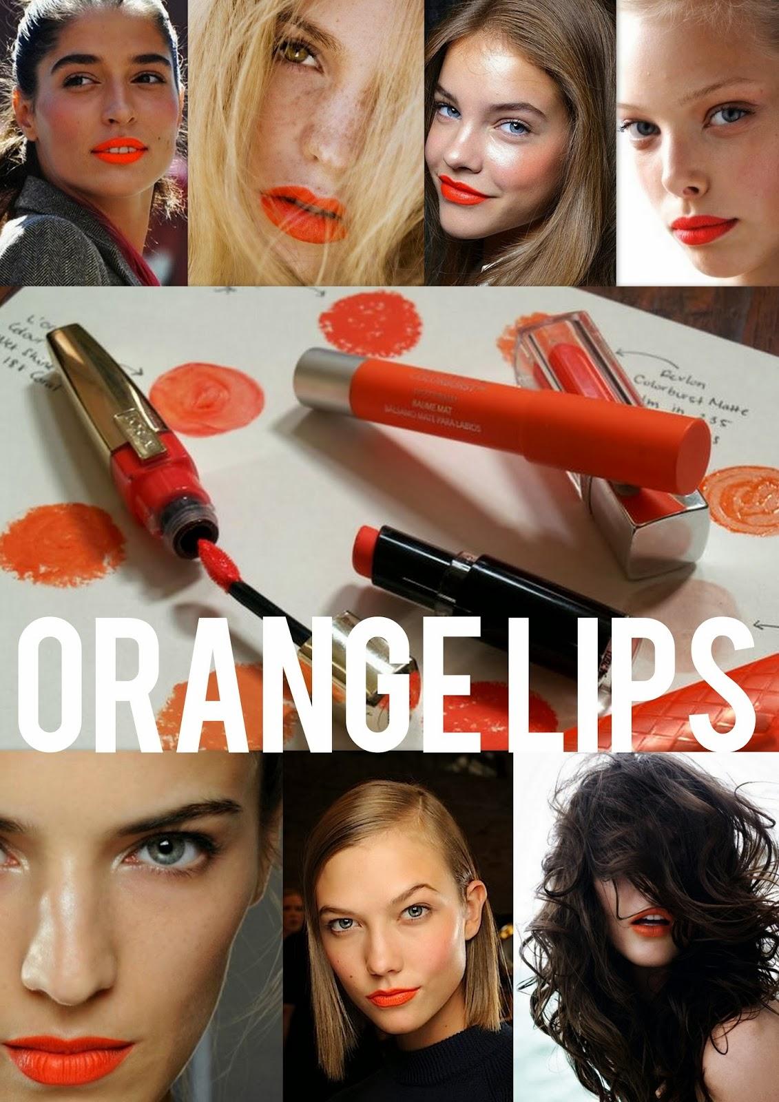 Oransje lepper