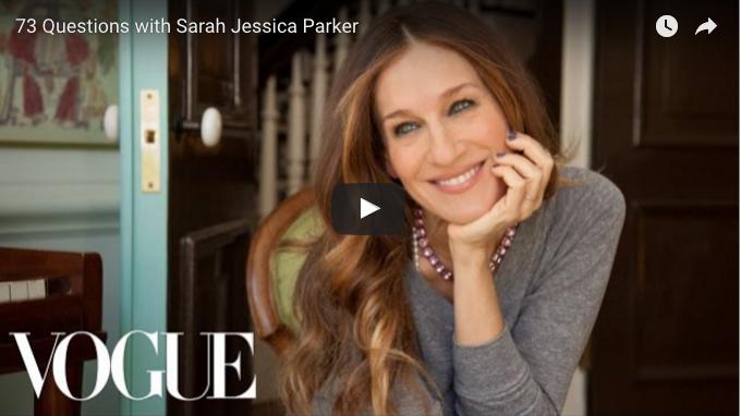 Lynintervju med Sarah Jessica Parker