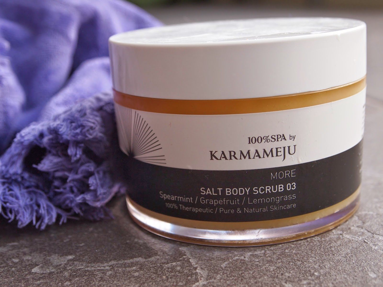 100% SPA by Karmameju Salt Body Scrub 03