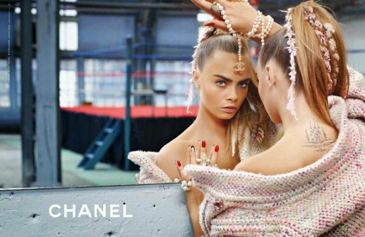 To fine på C – Cara + Chanel