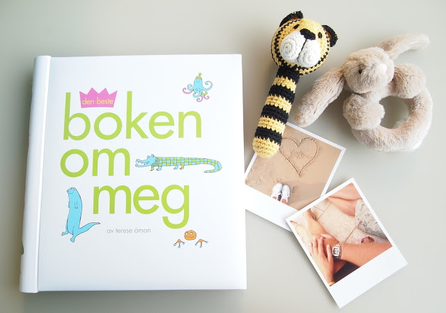 """Den første boken – """"Boken om meg"""""""