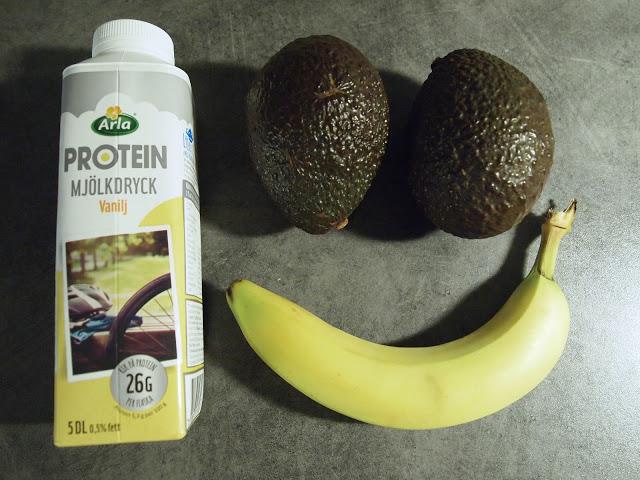Mektig mums – banan og avokado smoothie