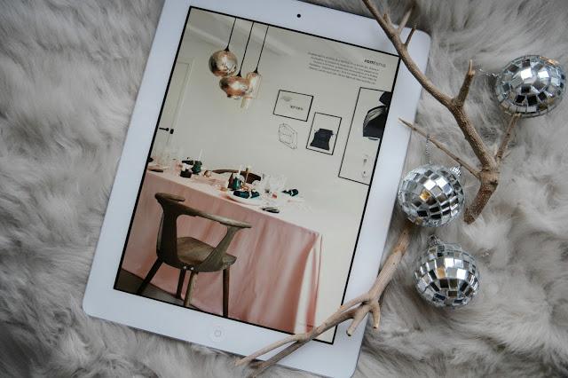 En liten magasinkiosk på iPaden