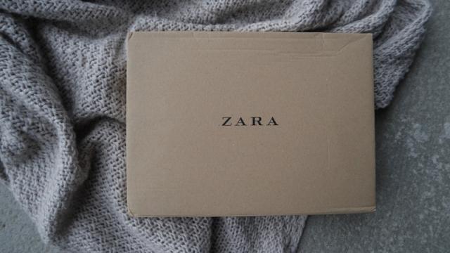Søt strikk fra Zara Kids