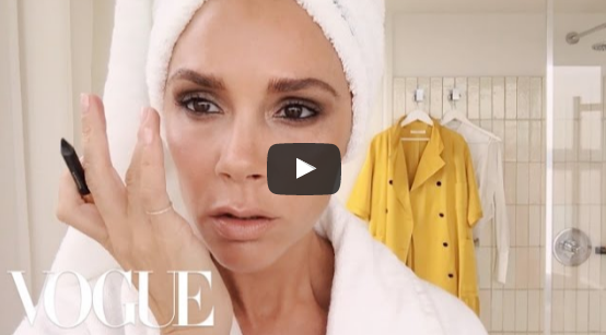Victoria Beckham's Five Minute Face