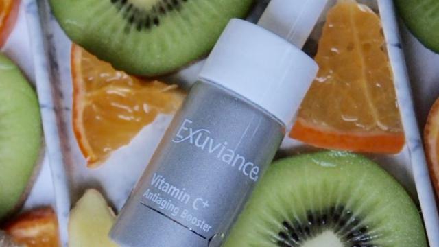 C-Vitamin på flaske fra Exuviance