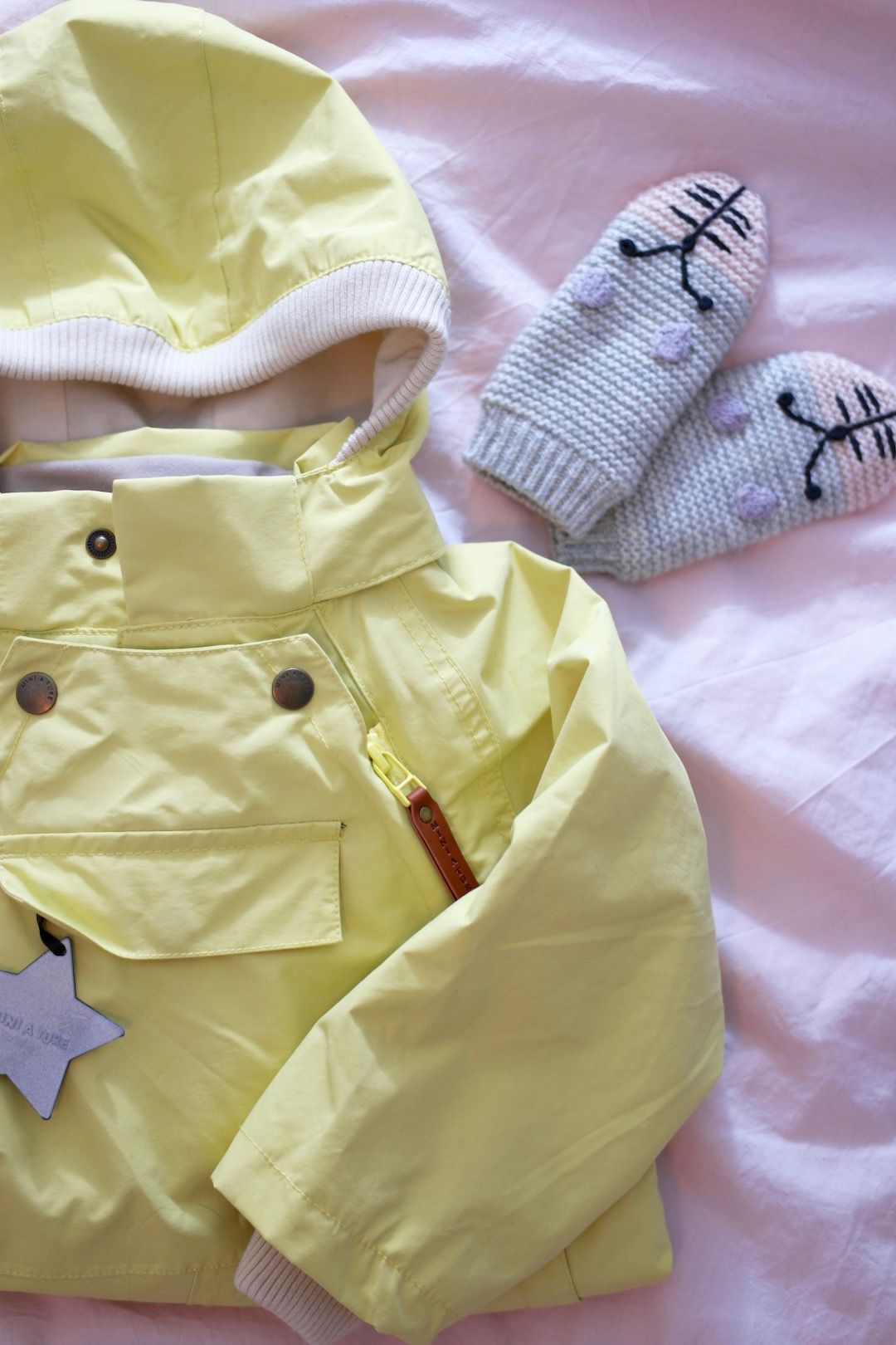 Mini A Ture Wisto Endive Yellow - Ladybirds Nest Blogg