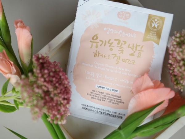 Organic Flowers Hydrogel Mask – Whamisa
