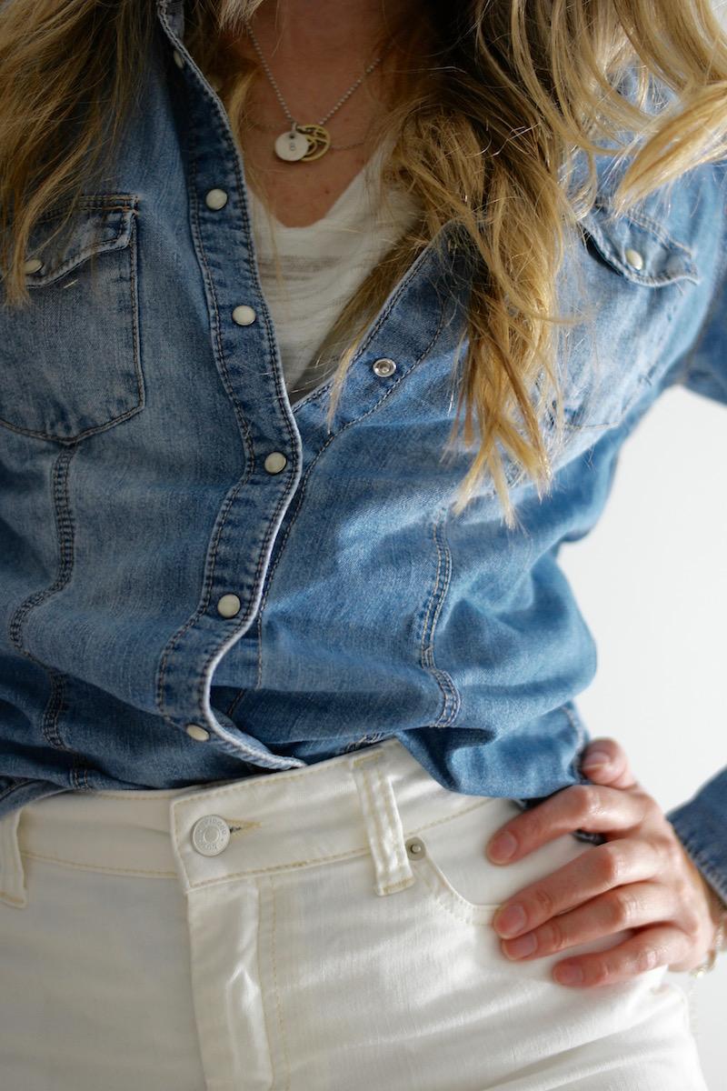 White Denim - Chloe Skirt